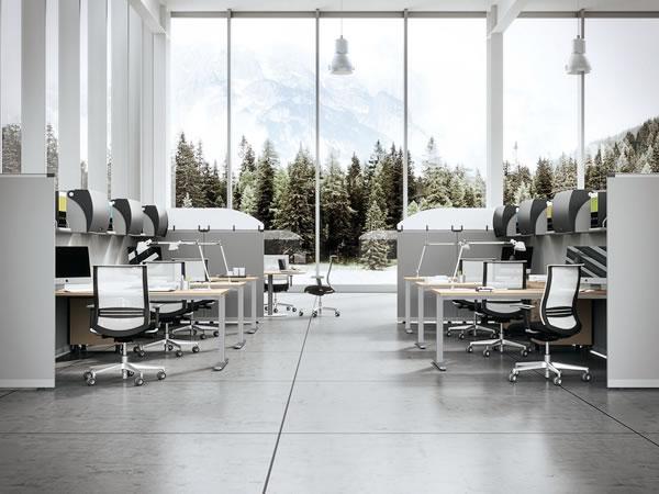 Arredamento Per Ufficio Biella : Linea ufficio mobili cau